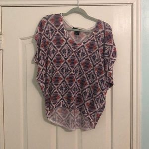 Forever 21 knit multicolor top